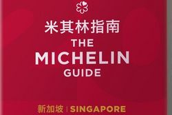 Cover Guide Michelin Singapore 2018