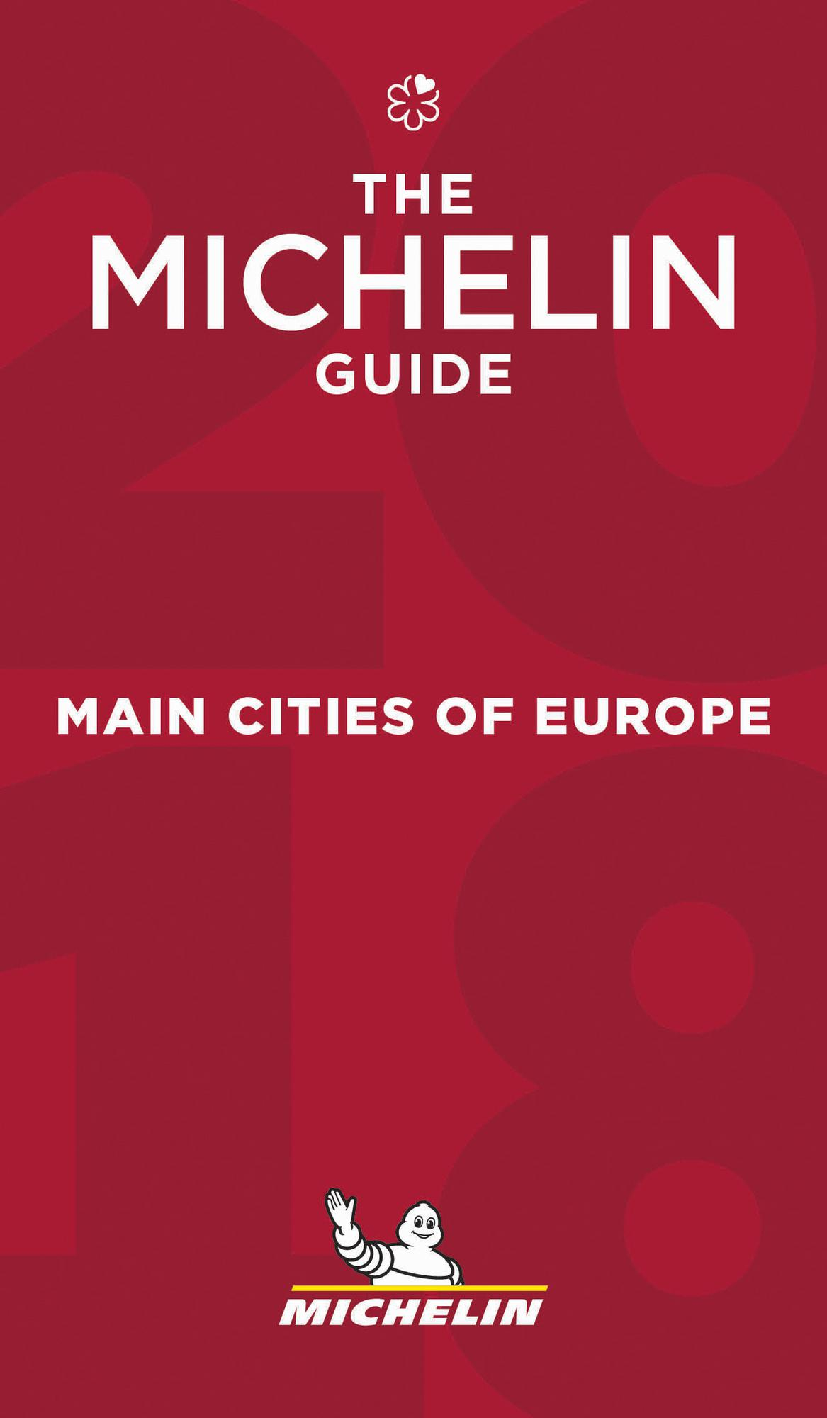 Cover Guide Michelin Main Cities Europe